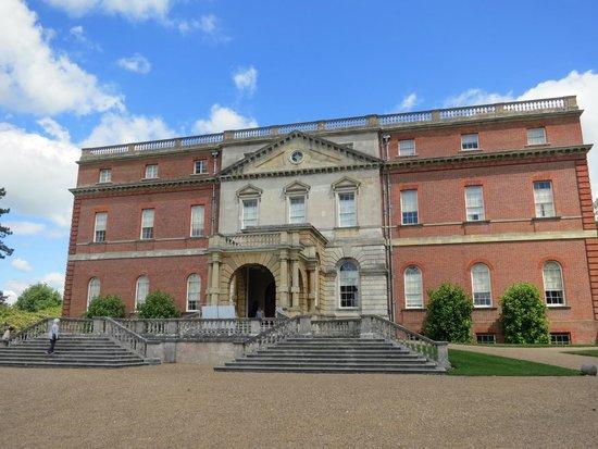 Clandon Park: House Enetrance
