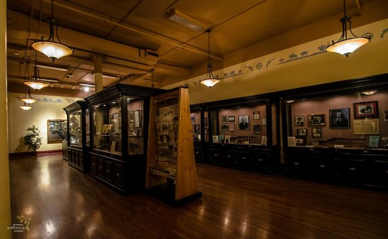 The Buckhorn Saloon and Texas Ranger Museum: A tribute to the history of the Texas Rangers.