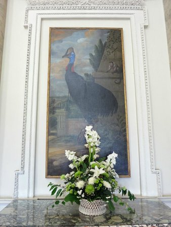 Clandon Park: Interesting paintings in enterance hall