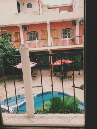 Mayaland Plaza Hotel: view from balcony