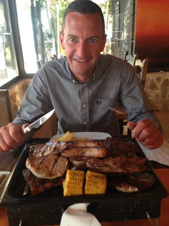 El Gaucho: Mixed Grill for two