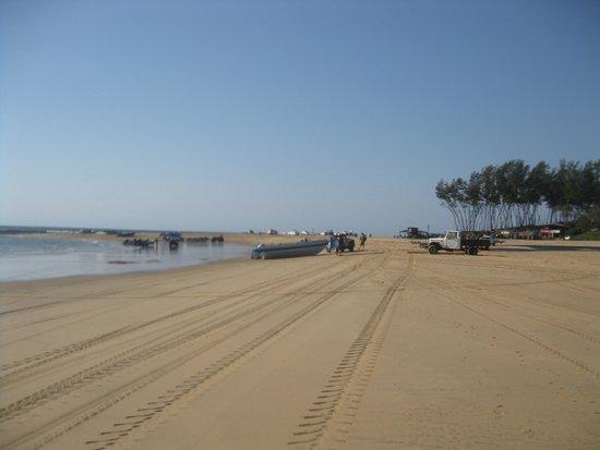 Sodwana Bay: Along the sea front