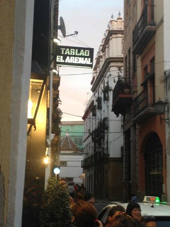 Tablao Flamenco El Arenal: Outside Sign
