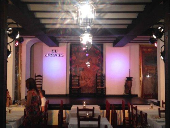 Tablao Flamenco El Arenal : Inside