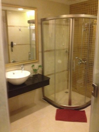 Hanoi Tirant Hotel: Spacious bathroom