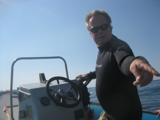 Sodwana Bay: Lindsey: Owner / Skipper / Dive Master