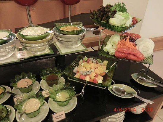 Bossotel Bangkok: buffetbreakfast