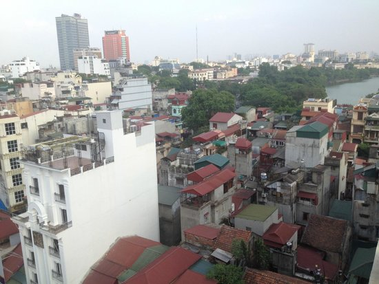 Hanoi Tirant Hotel: View from roof