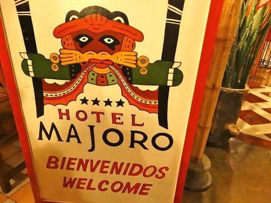 Hotel Majoro : entrée