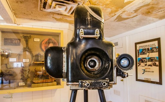 One of the original cameras used on the set at the Old Tucson Studios