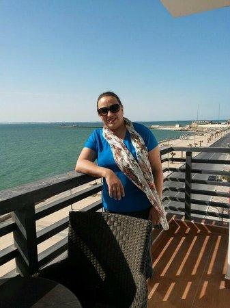 Hotel Buenavista : Balcon de la suite Junior 310