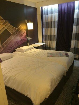 Mercure Paris Centre Tour Eiffel : comfortable beds