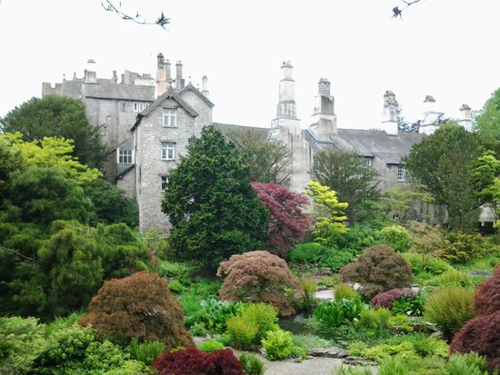 Kendal, UK: house and garden