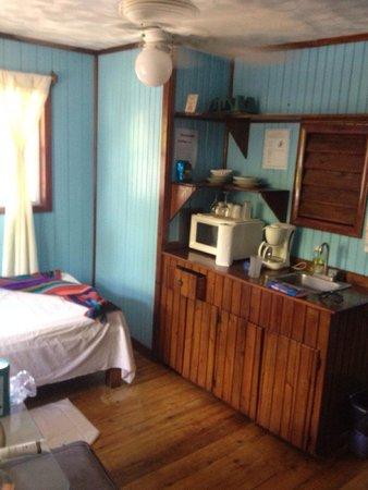 Bananarama Beach and Dive Resort: Room#19 living area