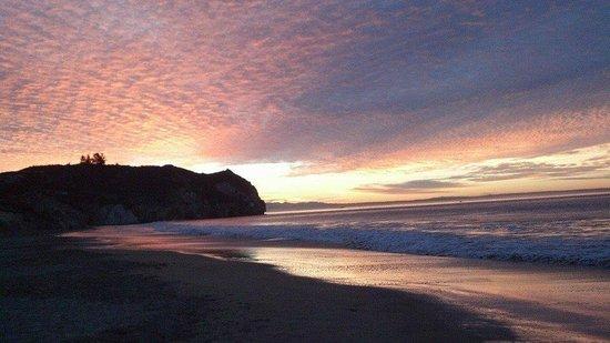 Inn at Avila Beach: Avila's amazing sunrise!