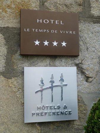 Hôtel Le Temps de Vivre : Hotel Außenansicht