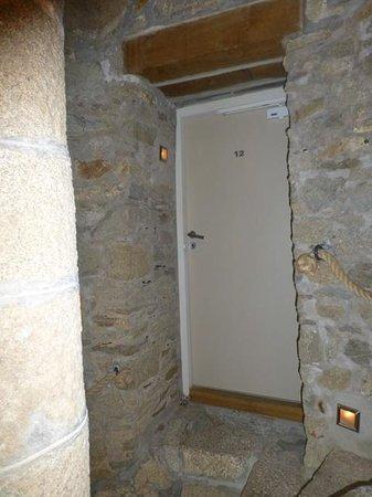 Hôtel Le Temps de Vivre : Hotel Zimmereingang