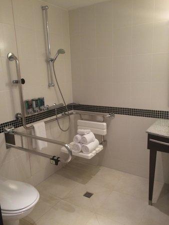 Hampton by Hilton Berlin City West: Bathroom (disabled)