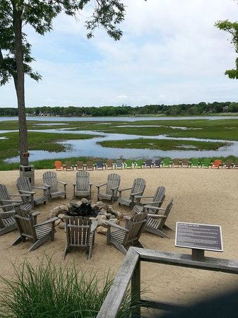 Bayside Resort Hotel: Marsh area
