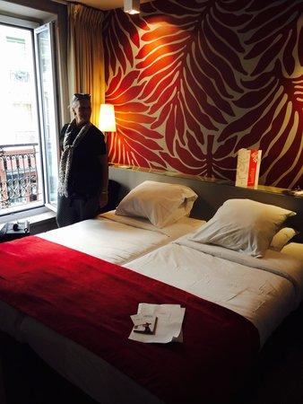 Gardette Park Hotel : Twin room level 1