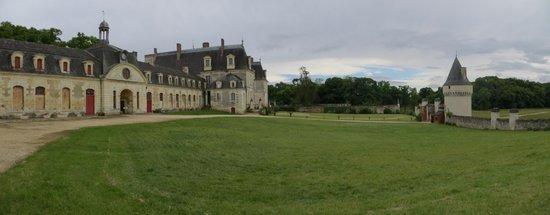 Chateau de Gizeux: Vista do Châteaux