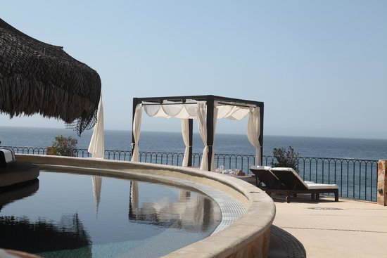 Hilton Los Cabos Beach & Golf Resort: the view from the adult pool