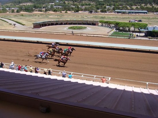 Ruidoso Downs, Nouveau-Mexique : Run to the finish