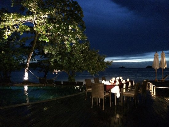 The Chill Resort & Spa, Koh Chang: Our dinner