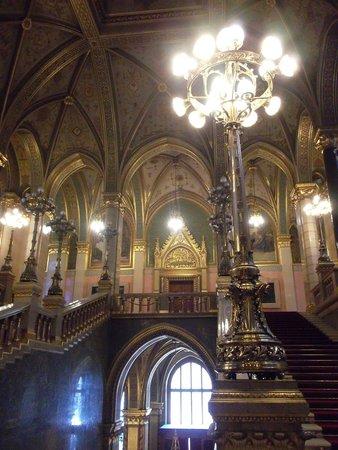 Parlement : Парадная лестница