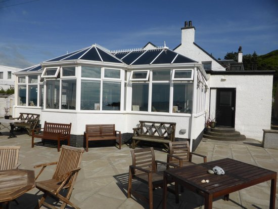 Argyll Hotel: Dining room & terrace