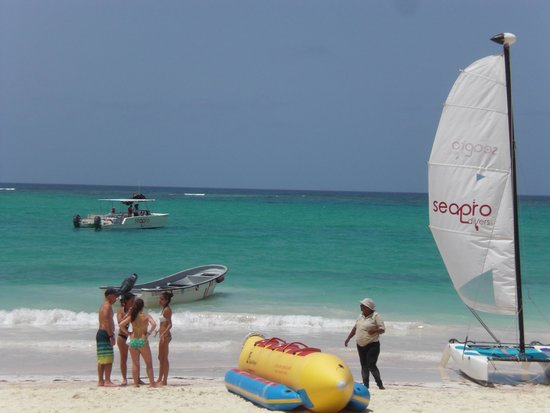 Occidental Grand Punta Cana: Watersports on the beach