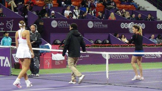 Khalifa Tennis and Squash Complex: 2014 Qatar Total Open