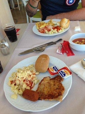 Flamboyan Caribe: First day's breakfast