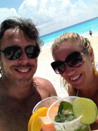 Paradisus Playa del Carmen La Perla: praia