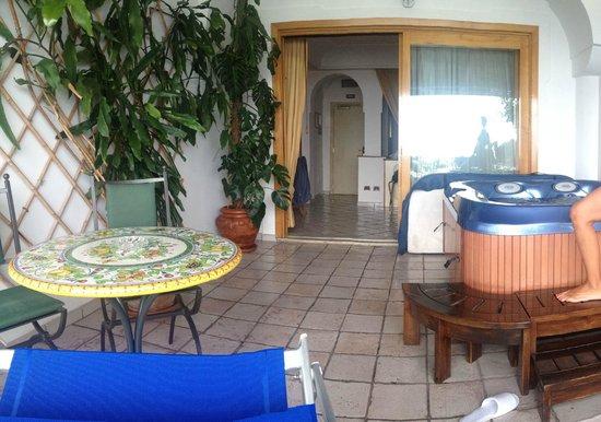 Hotel Eden Roc: terrazzo mozzafiato