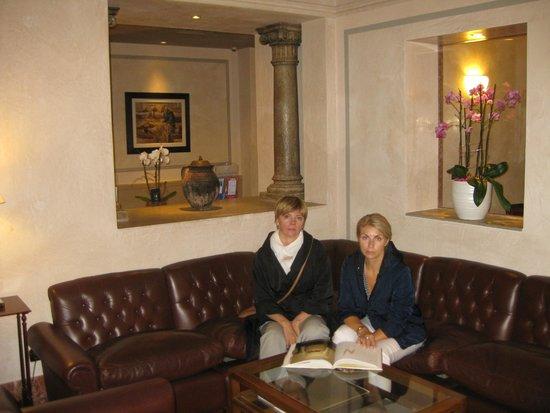 Accademia Hotel: В лобби отеля