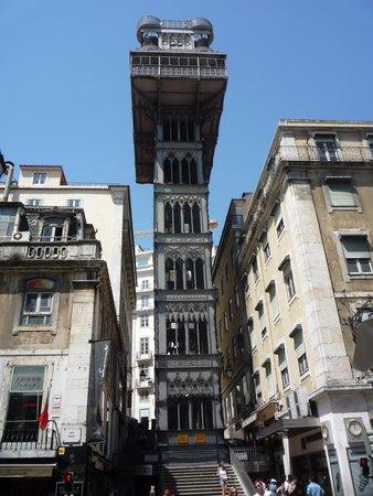 My Story Hotel Ouro : ascenseur de Santa Justa