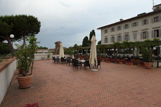 Hotel Garden: The terrasse