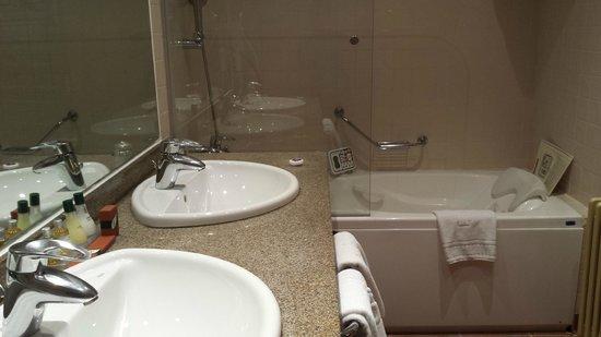 Parador de Bielsa : Baño renovado