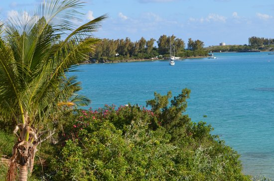 Grotto Bay Beach Resort & Spa : View from our balcony