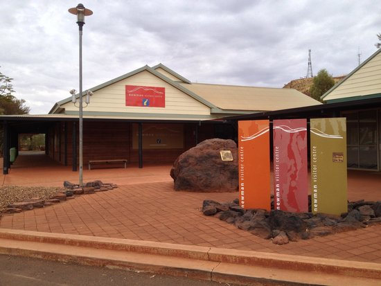 Newman Visitor Centre: Entry