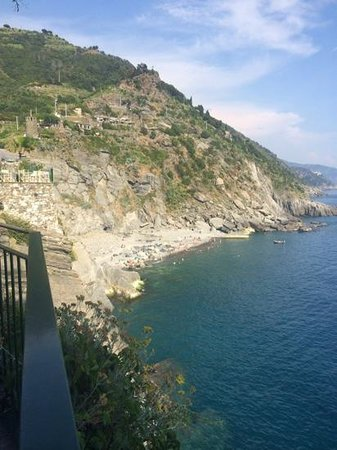Hotel Gianni Franzi : View from the private terrace, with the new breakfast deck in the background