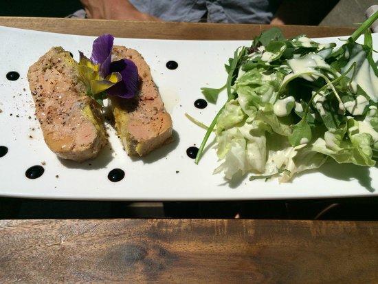 Le bistrot de bacchus : foie gras