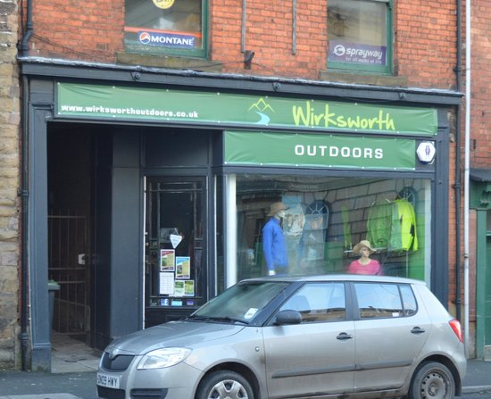 Wirksworth Outdoors shop front