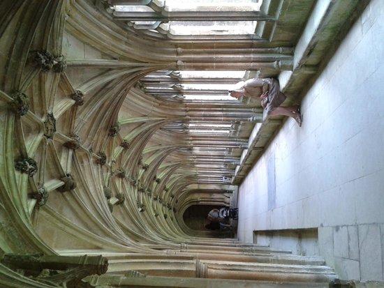 Lacock Abbey: inside the Abbey