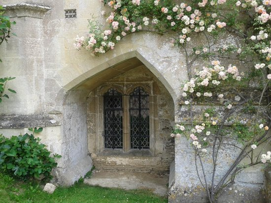 Lacock Abbey: quirky window