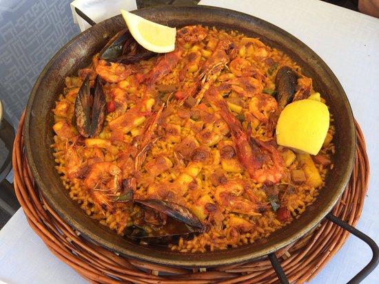 Restaurante Salamanca : Paella di pesce