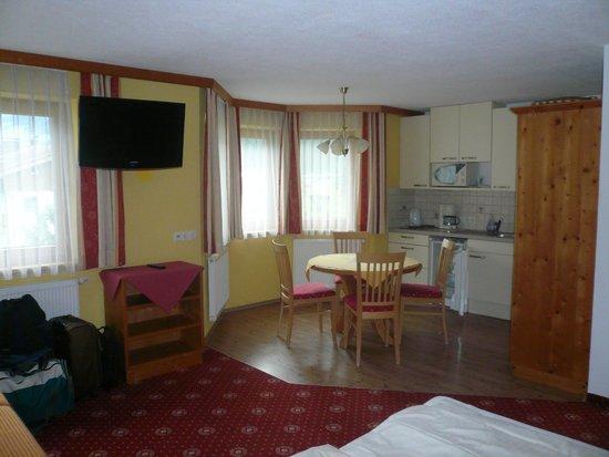 Hotel Garni Austria : angolo cucina