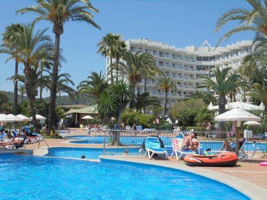 Eix Lagotel: piscina lagotel