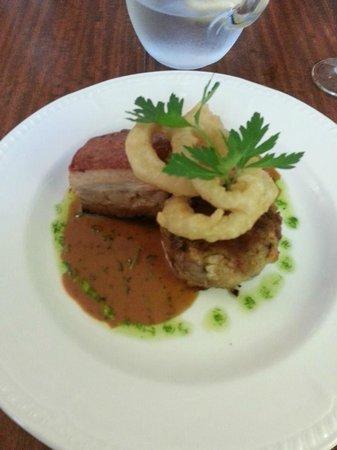 Peterstone Court Hotel: Dinner